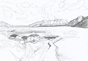 Norðurfjörður_teikning